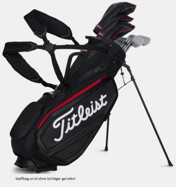 Titleist Staff Bag - Jet Black Premium Standbag