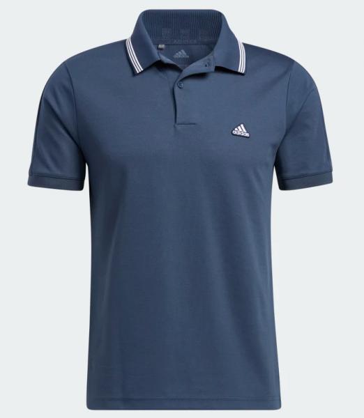 ADIDAS Go-To Primegreen Pique Poloshirt Herren