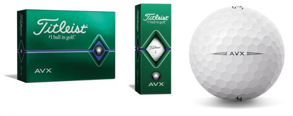 Titleist AVX Golfbälle weiß 12/24 oder 48 Stück