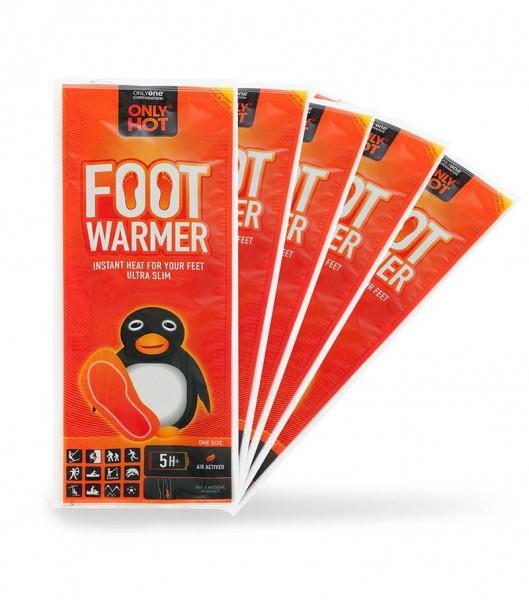 ONLY HOT - Fußwärmer (5 Paar) - gegen kalte Füße
