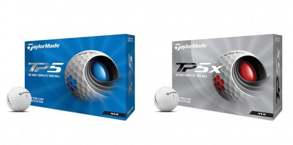 TaylorMade Golfbälle TP5 oder TP5x, 12 / 24 oder 48 Stück