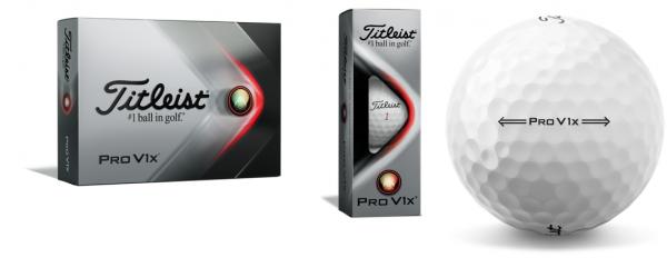 Titleist Pro V1X Golfbälle weiß 12/24 oder 48 Stück