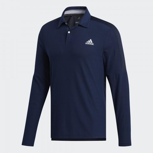 Adidas Sport Long Sleeve Polo Shirt - Langarmshirt Herren