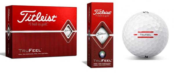 Titleist TruFeel Golfbälle weiß 12/24 oder 48 Stück