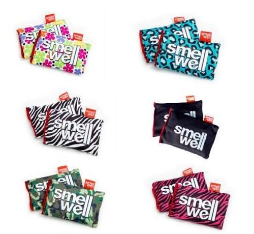 SmellWell Frische-Kissen / Antigeruchskissen (2 x 2 Kissen)