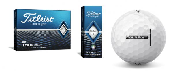 Titleist Tour Soft Golfbälle weiß 12/24 oder 48 Stück