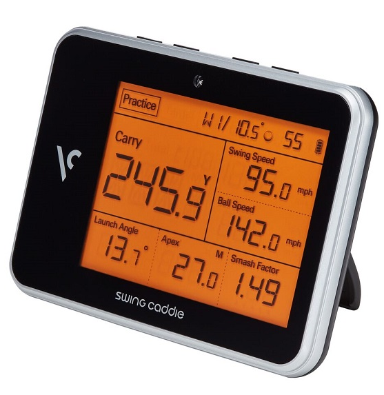 SWING CADDIE* SC300 Portable Launch Monitor black